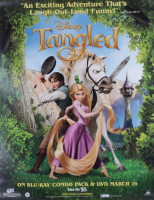 """Zachary Levi Signed Disney """"Tangled"""" 22x28 Poster (Beckett COA) (See Description) at PristineAuction.com"""