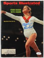 Olga Korbut Signed 1973 Sports Illustrated Magazine (JSA COA) (See Description) at PristineAuction.com
