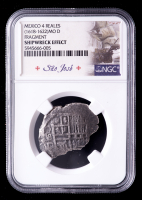 Sao Jose Shipwreck (1618-1622) Mexico Silver 8 Reales Coin (NGC Certified) at PristineAuction.com