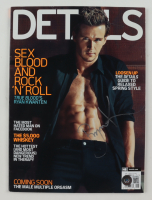 Ryan Kwanten Signed 2010 Details Magazine (Beckett COA) at PristineAuction.com