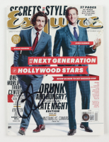 Aaron Taylor-Johnson Signed 2012 Esquire Magazine (Beckett COA) at PristineAuction.com