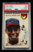 Ernie Banks 1954 Topps #94 RC (PSA 7) (MC) at PristineAuction.com