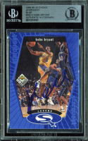 Kobe Bryant Signed 1998-99 UD Choice StarQuest Blue #SQ13 (BGS Encapsulated) at PristineAuction.com
