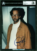 Eric Clapton Signed 8x10 Photo (BGS Encapsulated) at PristineAuction.com