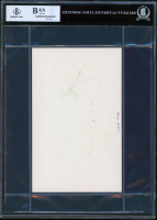 Mark Hamill, Alec Guinness, & Billy Dee Williams Signed 5x8 Cut (BGS Encapsulated) at PristineAuction.com