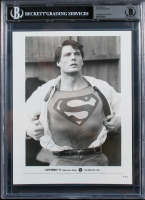 """Christopher Reeve Signed """"Superman"""" 8x10 Photo (BGS Encapsulated) at PristineAuction.com"""