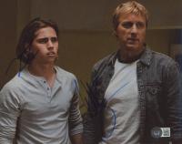 """Tanner Buchanan & William Zabka Signed """"Cobra Kai"""" 8x10 Photo (Beckett COA) at PristineAuction.com"""