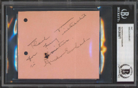 Amelia Earhart Signed 3.5x4.25 Cut with Inscription (BGS Encapsulated & JSA LOA) at PristineAuction.com