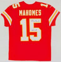 "Patrick Mahomes Signed Chiefs Jersey Inscribed ""LIV MVP"" (Fanatics Hologram) at PristineAuction.com"