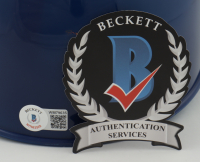 """Dwight Gooden Signed Mets Full-Size Replica Batting Helmet Inscribed """"84 R.O.Y"""" & """"Mets H.O.F"""" (Beckett Hologram) at PristineAuction.com"""