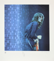 Jimmy Page Signed 30x33 LE Lithograph (Beckett LOA) at PristineAuction.com