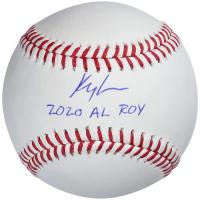 "Kyle Lewis Signed OML Baseball Inscribed ""2020 AL ROY"" (Fanatics Hologram) at PristineAuction.com"
