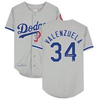 Fernando Valenzuela Signed Dodgers Jersey (Fanatics Hologram) at PristineAuction.com