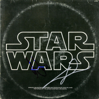 """Harrison Ford & George Lucas Signed """"Star Wars"""" Vinyl Record Album (Beckett LOA) at PristineAuction.com"""