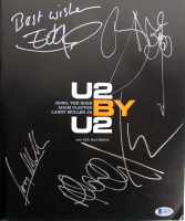 """""""U2BYU2"""" Hardcover Autobiography Band-Signed by (4) with Bono, The Edge, Adam Clayton & Larry Mullen Jr. (Beckett LOA) at PristineAuction.com"""