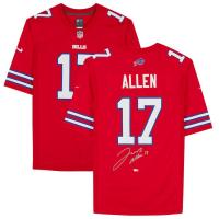 Josh Allen Signed Bills Jersey (Fanatics Hologram) at PristineAuction.com