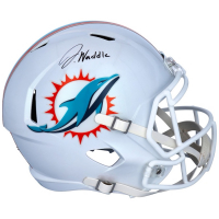 Jaylen Waddle Signed Dolphins Full-Size Speed Helmet (Fanatics Hologram) at PristineAuction.com