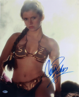 """Carrie Fisher Signed """"Star Wars: Return of the Jedi"""" 16x20 Photo (Beckett LOA) at PristineAuction.com"""