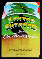 """Lynyrd Skynyrd """"British On the Road"""" Program Band-Signed by (7) with Ronnie Van Zant, Billy Powell, Atrimus Pyle, Allen Collins (Beckett LOA) (See Description) at PristineAuction.com"""