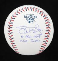 "Shane Bieber Signed 2019 All-Star Baseball Inscribed ""19 ASG MVP"" & ""Not Justin""  (JSA COA & USA SM COA) at PristineAuction.com"