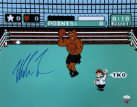 """Mike Tyson Signed Nintendo """"Punch Out"""" 16x20 Photo (JSA COA & Tyson Hologram) at PristineAuction.com"""