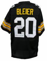 "Rocky Bleier Signed Jersey Inscribed ""SB IX X XIII XIV"" (JSA COA) at PristineAuction.com"