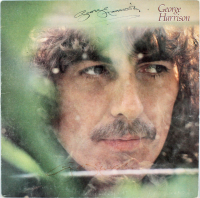 "George Harrison Twice-Signed ""George Harrison"" Vinyl Record Album (Beckett LOA) at PristineAuction.com"
