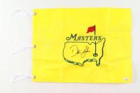 Dustin Johnson Signed 2020 Masters Golf Pin Flag (JSA COA) at PristineAuction.com