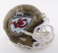 Tyreek Hill Signed Chiefs Camo Alternate Speed Mini Helmet (Beckett Hologram) at PristineAuction.com