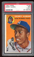 Hank Aaron 1954 Topps #128 RC (PSA 7) (OC) at PristineAuction.com