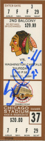 Stan Mikita Signed NHL 1994 Game Ticket (Beckett COA) at PristineAuction.com