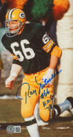 """Ray Nitschke Signed Packers 5.5x10 Photo Inscribed """"HOF '78"""" (Beckett COA) at PristineAuction.com"""