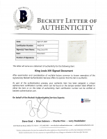 King Louis XVI Signed 1786 Document (Beckett LOA) at PristineAuction.com