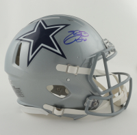 Emmitt Smith Signed Cowboys Full-Size Authentic On-Field Speed Helmet (Beckett Hologram) at PristineAuction.com