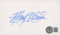 Marty Marion Signed 3x5 Index Card (Beckett COA) at PristineAuction.com