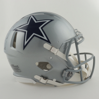 Michael Irvin Signed Cowboys Full-Size Authentic On-Field Speed Helmet (Beckett Hologram) (See Description) at PristineAuction.com
