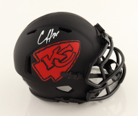 Clyde Edwards-Helaire Signed Chiefs Eclipse Alternate Speed Mini Helmet (Beckett Hologram) at PristineAuction.com