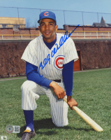 Billy Williams Signed Cubs 8x10 Photo (Beckett COA) at PristineAuction.com