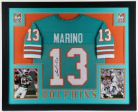 Dan Marino Signed 35x43 Custom Framed Jersey Display (JSA Hologram) at PristineAuction.com