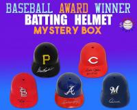 Schwartz Sports Baseball Award Winner Signed Batting Helmet Mystery Box – Series 2 (Limited to 100) at PristineAuction.com