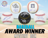 Schwartz Sports Baseball Award Winner Signed Baseball Mystery Box - Series 14 (Limited to 150) at PristineAuction.com