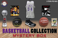 Schwartz Sports Basketball Collection Mystery Box – Series 3 (3 Autographed Basketball Collectibles In Every Box) at PristineAuction.com
