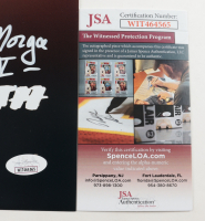 "Tom Morga Signed ""Friday The 13th"" 11x14 Photo Inscribed ""Jason V"" (JSA COA) at PristineAuction.com"