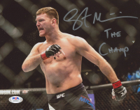 "Stipe Miocic Signed UFC 8x10 Photo Inscribed ""The Champ"" (PSA COA) at PristineAuction.com"