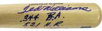 "Ted Williams Twice-Signed Louisville Slugger Baseball Bat Inscribed "".344 B.A."", ""521 H.R."" & ""1839 R.B.I."" (JSA LOA & Williams Hologram) at PristineAuction.com"