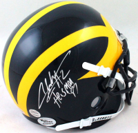 "Charles Woodson Signed Michigan Wolverines Mini Helmet Inscribed ""Heisman 97"" (Beckett Hologram) at PristineAuction.com"