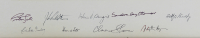 9.5x13.25 Custom Framed Photo Signed by (9) with Ruth Bader Ginsberg, John Roberts, Clarence Thomas, David Souter (JSA LOA) at PristineAuction.com
