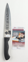 """Miko Hughes Signed """"Pet Sematary"""" Replica Stainless Steel Knife Inscribed """"Gage"""" (PSA Hologram) at PristineAuction.com"""