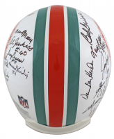 1972 Dolphins Full-Size Authentic On-Field Helmet Team-Signed by (26) with Dick Anderson, Larry Ball, Larry Csonka, Norm Evans (JSA COA) at PristineAuction.com