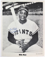 """Willie Mays Signed Giants 8x10 Photo Inscribed """"Best Wishes"""" (JSA LOA) at PristineAuction.com"""